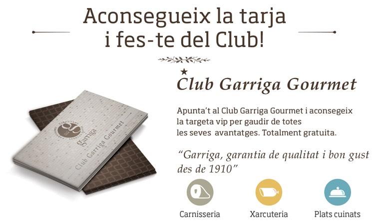 Club Garriga Gourmet